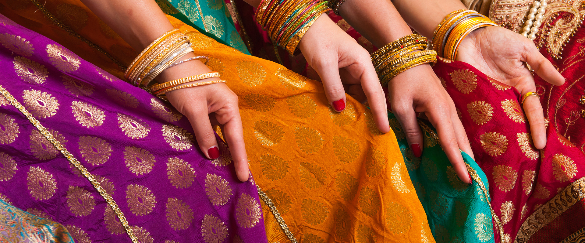 Inde | Saris colorés