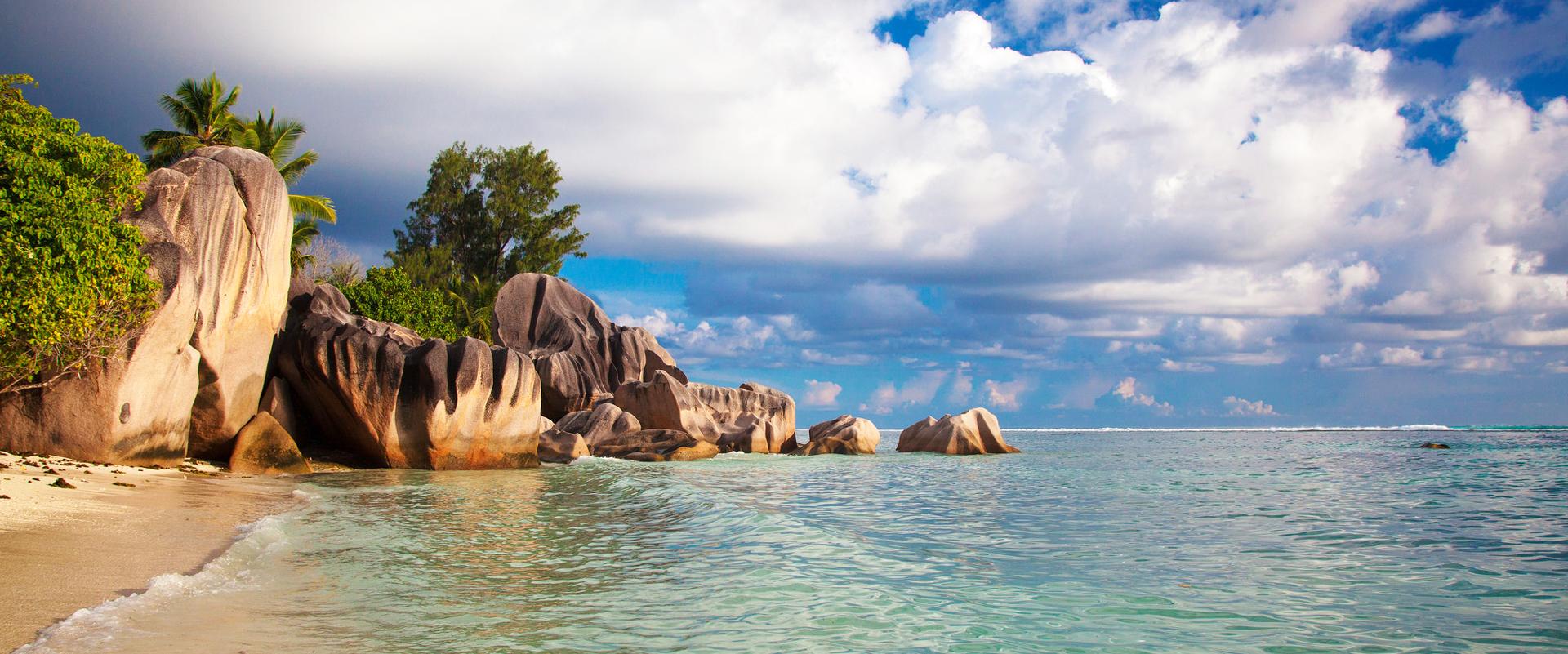 Seychelles La Digue - Anse Source d'Argent